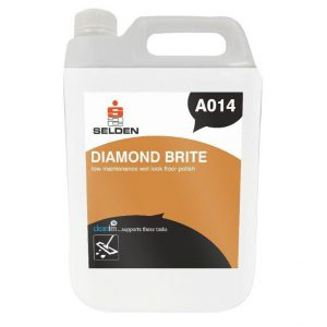 selden diamond brite low maintenance wet look floor polish