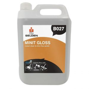 selden minit gloss instant clean and shine floor polish