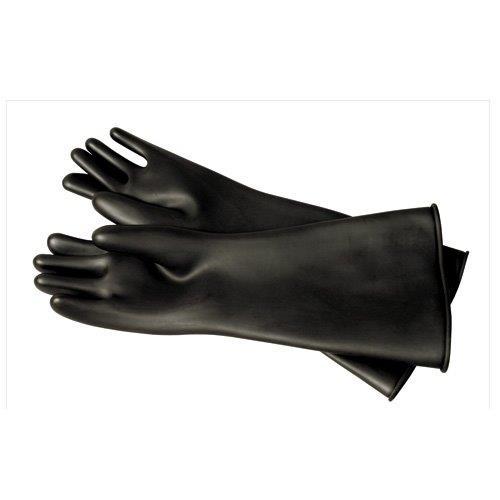 jet black gloves