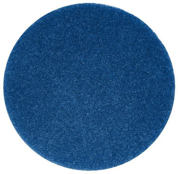 blue floor cleaning pad