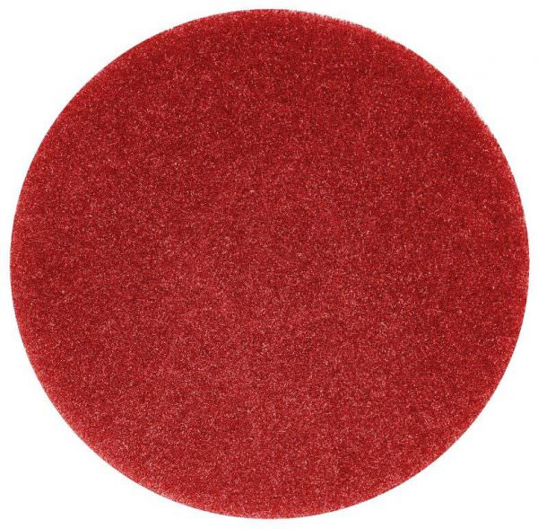red floor buffing pad