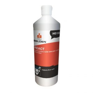 selden react hydrochloric toilet descaler and renovator bottle