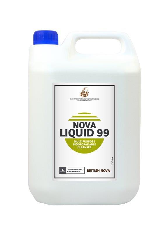 nova liquid 99 multipurpose biodegradeable cleanser