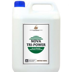 nova tri-power oil and greaser remover and cleanser