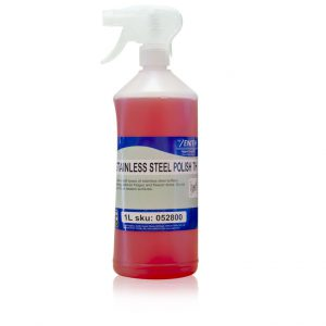 1l spray bottle of stainless steel polish